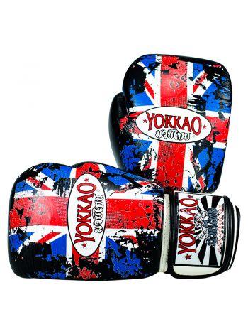 Боксерские перчатки Yokkao UK Flag