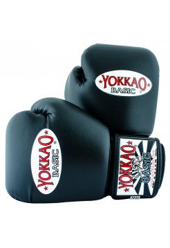 Боксерские перчатки Yokkao Syntex черные