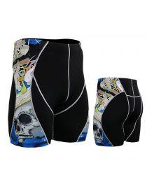 Компрессионные шорты FIXGEAR P2S-B19B черные