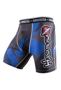 Компрессионные шорты Hayabusa Metaru 47 Silver синие