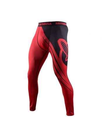 Компрессионные штаны Hayabusa Recast красно-черные