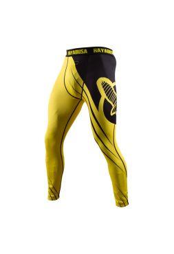 Компрессионные штаны Hayabusa Recast желто-черные