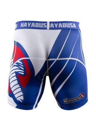 Компрессионные шорты Hayabusa Recast сине-белые