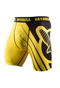 Компрессионные шорты Hayabusa Recast желто-черные