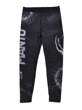 Компрессионные штаны MANTO SNAKE черные
