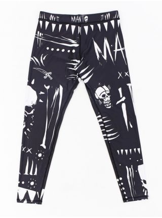 Компрессионные штаны MANTO VOODOO черные