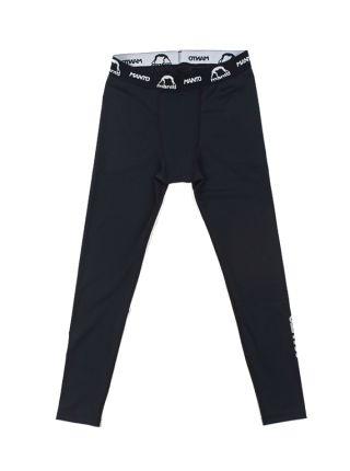 Компрессионные штаны MANTO BASICO черные