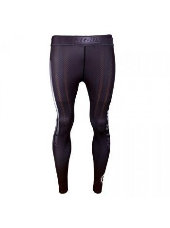 Компрессионные штаны Tatami New IBJJF Rank Spats Brown