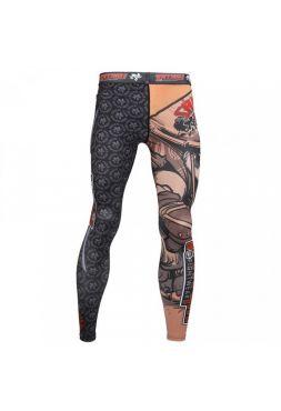 Компрессионные штаны Tatami Samurai Panda Spats