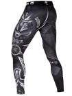 Компрессионные штаны ММА VENUM GLADIATOR 3.0 черно-белые