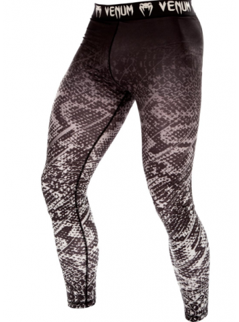 Компрессионные штаны ММА VENUM TROPICAL черно-серые