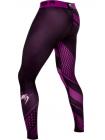 Компрессионные штаны ММА VENUM RAPID черно-фиолетовые