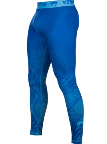 Компрессионные штаны ММА VENUM FUSION синие