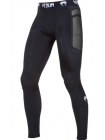 Компрессионные штаны ММА VENUM ABSOLUTE темно-серые
