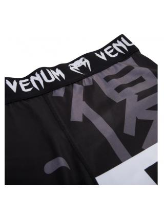 Компрессионные штаны ММА VENUM REVENGE черные