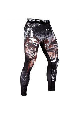 Компрессионные штаны VENUM GORILLA SPATS черные