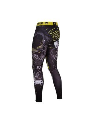 Компрессионные штаны Venum Viking Spats черные