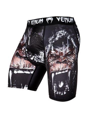 Компрессионные шорты VENUM GORILLA VALE TUDO SHORTS черные