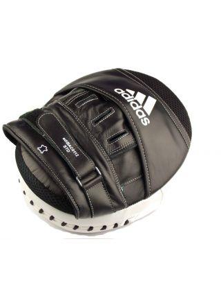 Боксерские лапы Adidas Ultimate Classic Air Mitts Vacuum Pad черно-белые