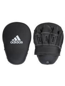 "Лапы для бокса Adidas Focus Mitt Leather 10"" черные"