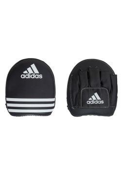 Лапы для бокса Adidas Square Focus Mitt черные