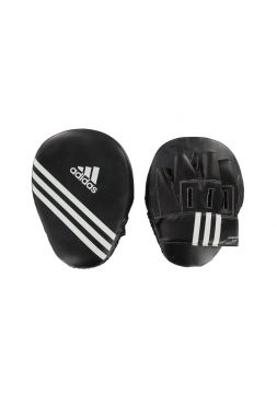 Боксерские лапы Adidas Focus Mitt Short Eco черные