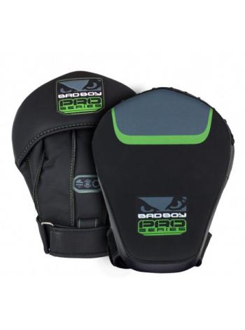 Лапы для бокса BAD BOY PRO SERIES 3.0 PRECISION черно-зеленые