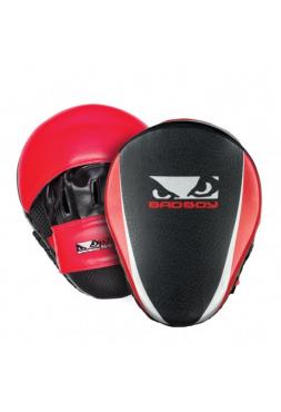 Лапы для бокса BAD BOY TRAINING SERIES 2.0 черно-красные