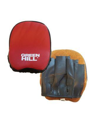 Боксерские лапы Green Hill FOCUS MITT SPIDER красные