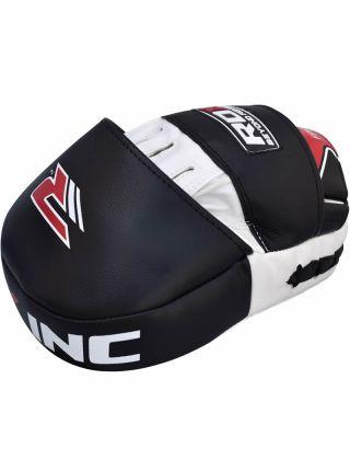 Лапы для бокса RDX Curved белые