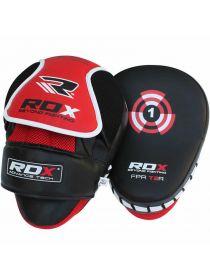 Лапы для бокса RDX Curved Focus красные