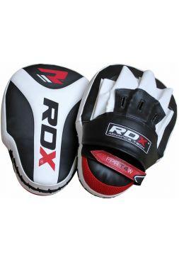 Лапы для бокса RDX Pro Curved белые
