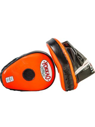 Лапы для бокса Yokkao черно-оранжевые