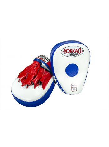 Лапы для бокса Yokkao сине-белые