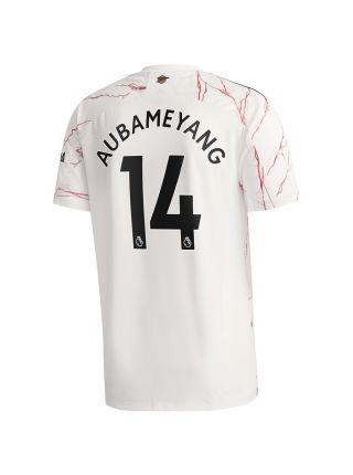 Гостевая форма Пьер Обамеянг 14 Арсенал 2020/21