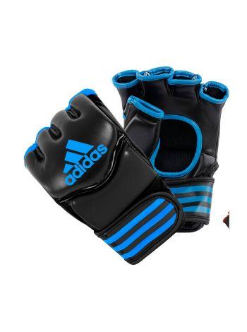 Перчатки ММА Adidas Traditional Grappling черно-синие