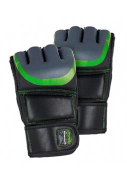 Перчатки ММА BAD BOY PRO SERIES 3.0 черно-зеленые