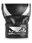 Перчатки ММА тренировочные BAD BOY PRO SERIES 2.0 черно-серые
