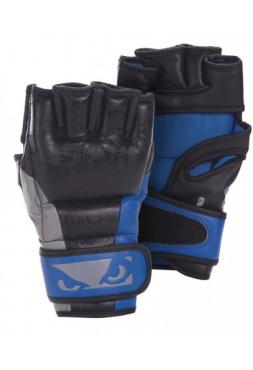 Перчатки ММА BAD BOY LEGACY черно-синие