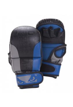 Перчатки ММА BAD BOY LEGACY SAFETY черно-синие