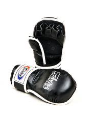 Перчатки MMA FAIRTEX черные FGV15 на липучке