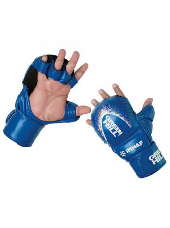 Перчатки Green Hill MMA GLOVES IMMAF APPROVED синие