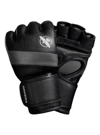 Перчатки Hayabusa T3 MMA 4oz черно-серые