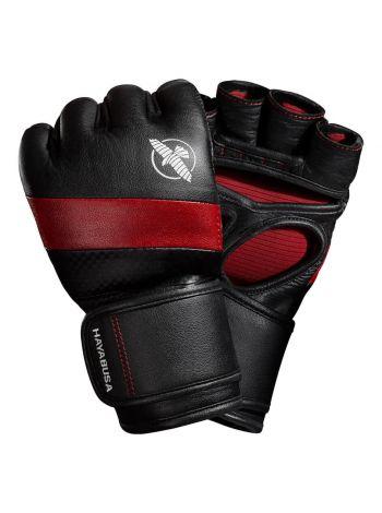 Перчатки Hayabusa T3 MMA 4oz черно-красные