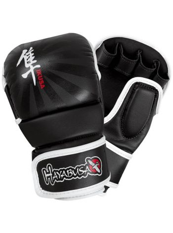 Перчатки Hayabusa Ikusa 7oz Hybrid черные