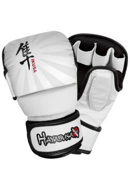 Перчатки Hayabusa Ikusa 7oz Hybrid белые