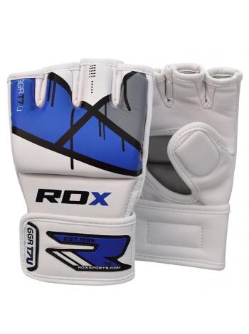 Перчатки ММА RDX EGO синие
