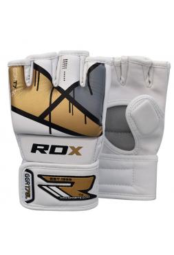 Перчатки ММА RDX EGO золотые