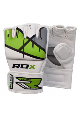 Перчатки ММА RDX EGO зеленые