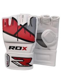 Перчатки ММА RDX EGO красные